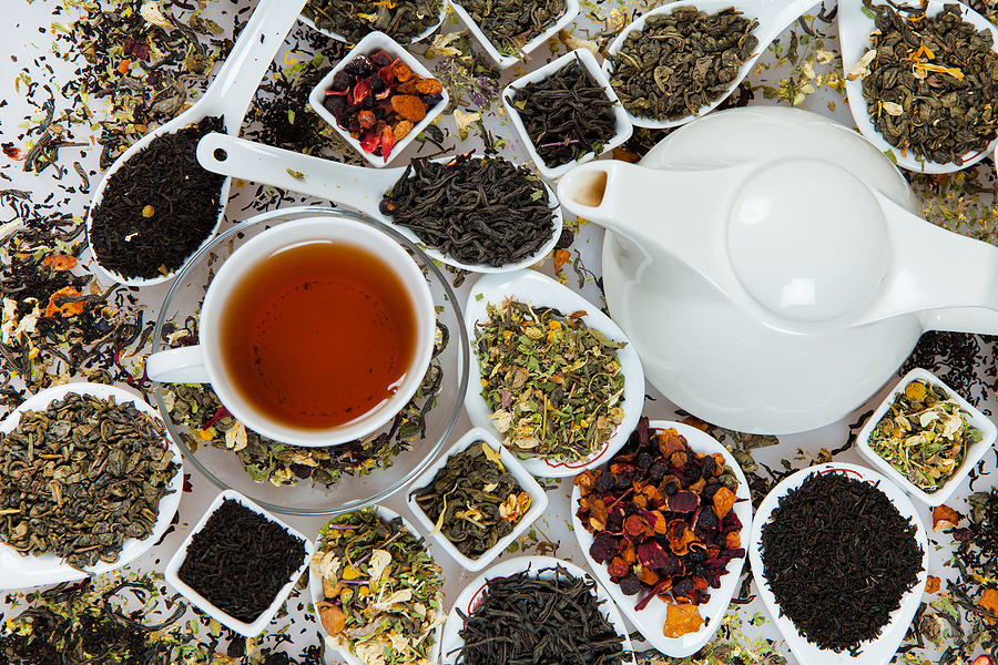 different types of tea and their various benefits