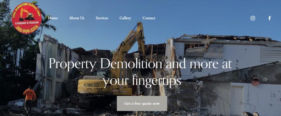 sena demolition service corp in miami