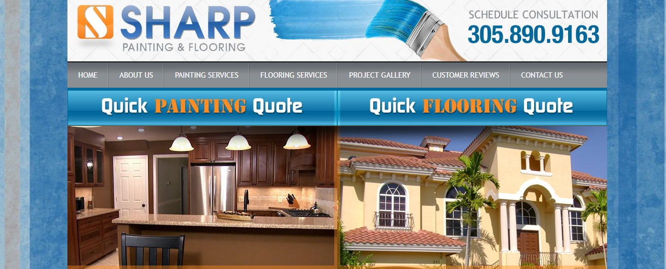 sharp painting and flooring in miami