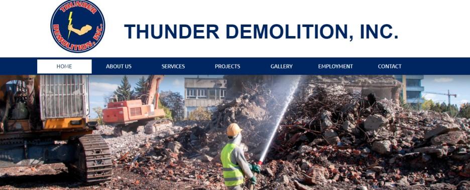 thunder demolition in miami