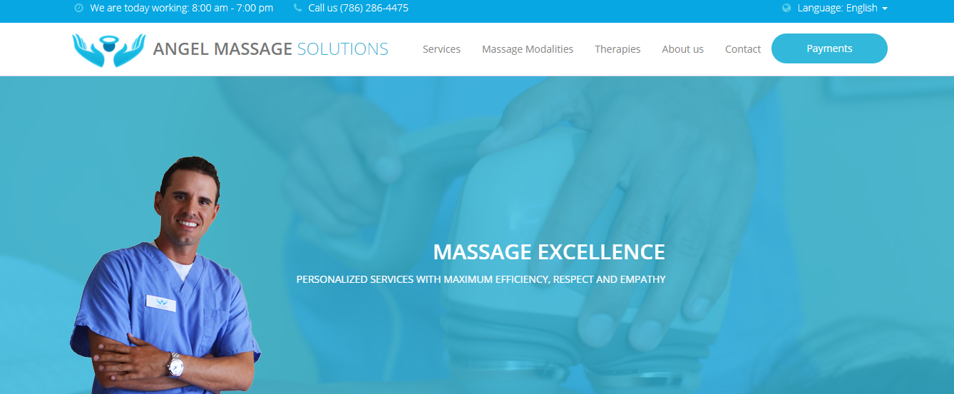 angel massage solutions in miami