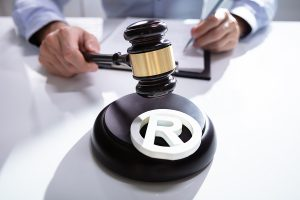 Trademark Lawyer and a Copyright Symbol