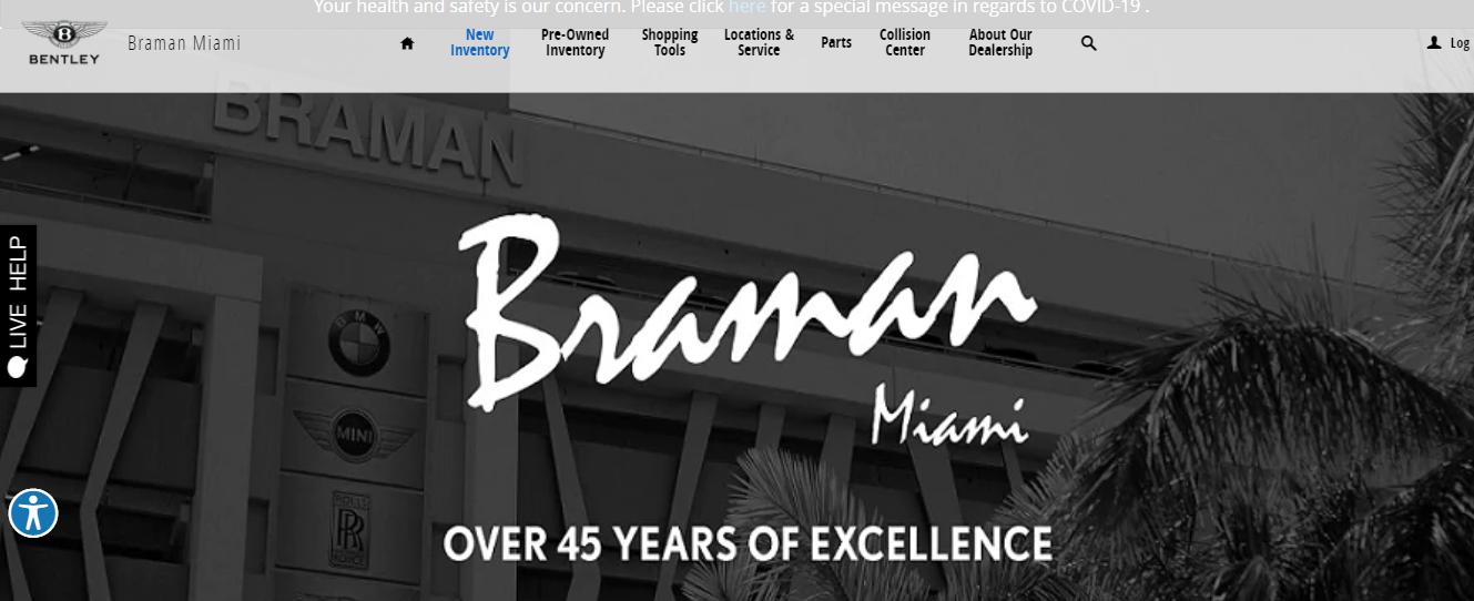 braman car dealership in miami