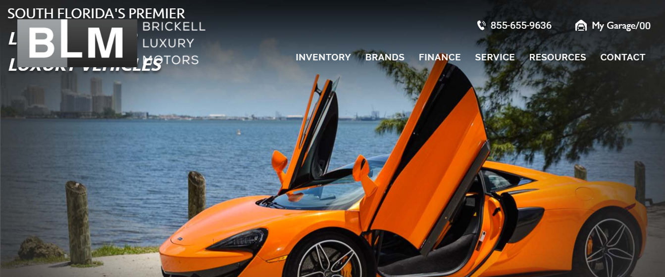 brickell luxury motors in miami
