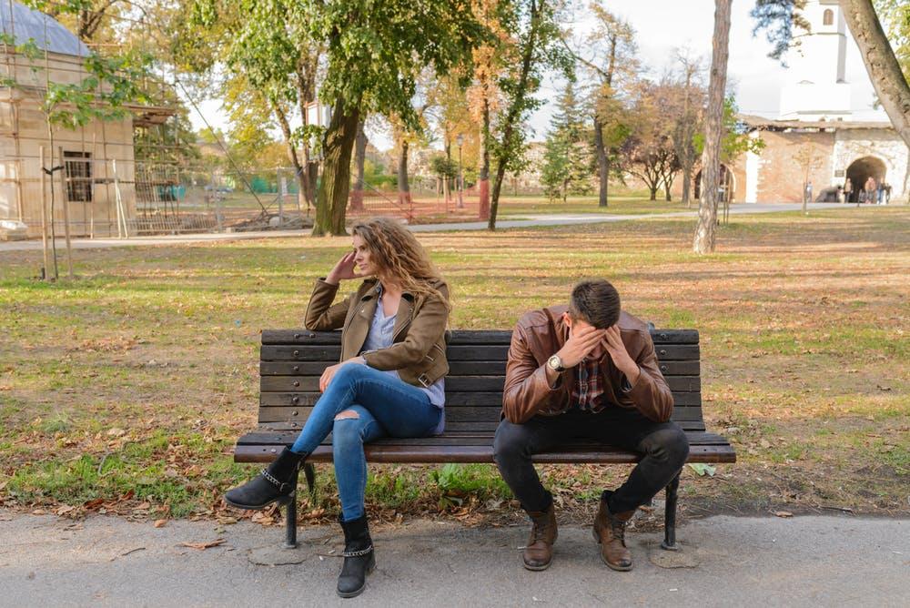 Unhappy couple considering divorce