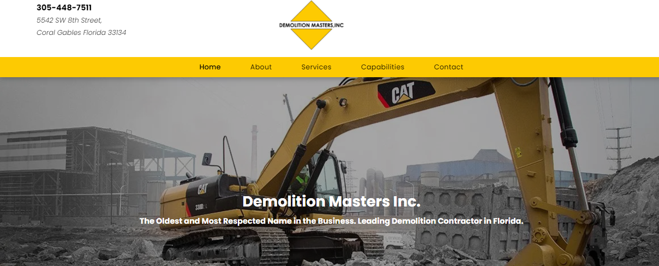 demolition masters in miami