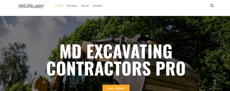 md excavators in miami