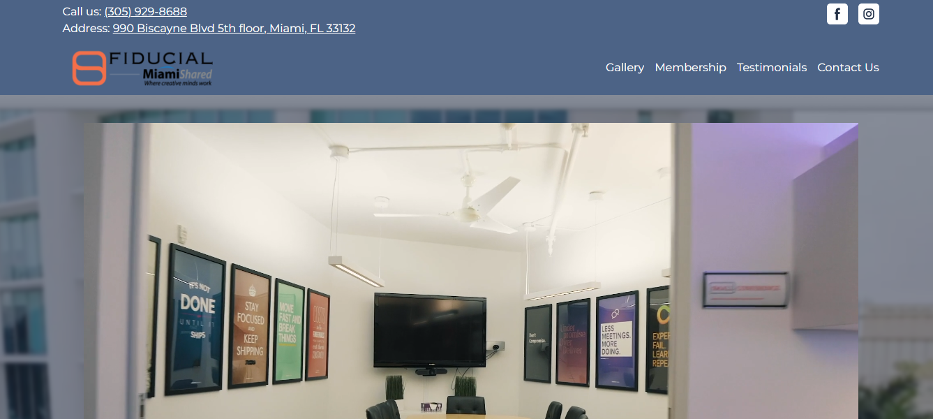 miamishared office rental spaces