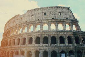 Italy's landmark Colosseum