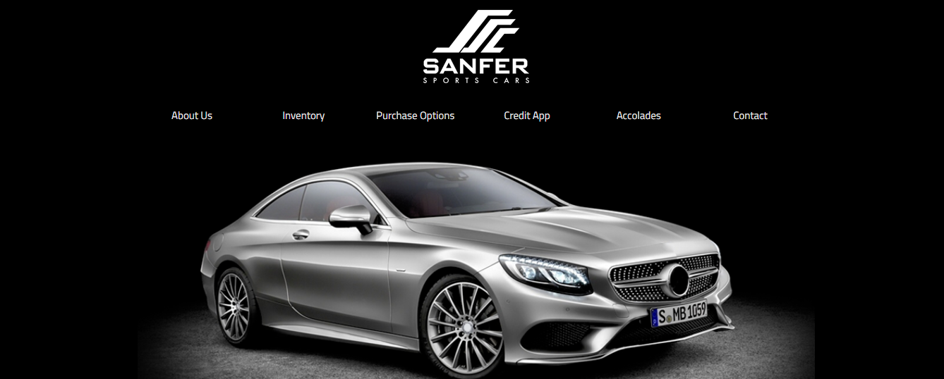 sanfer sports cars in miami