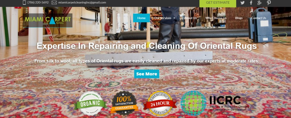 Miami Carpet Cleaning services