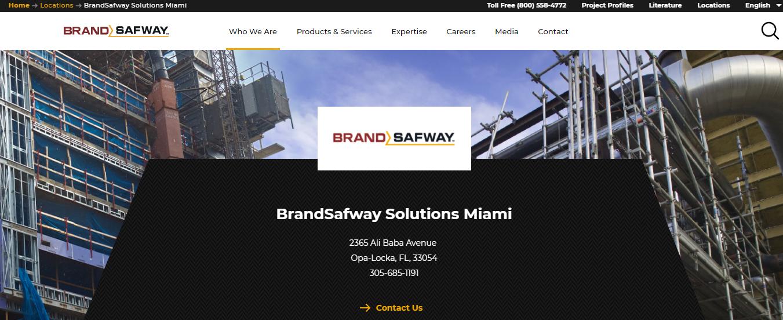 Brand Safway Scaffolders in Miami