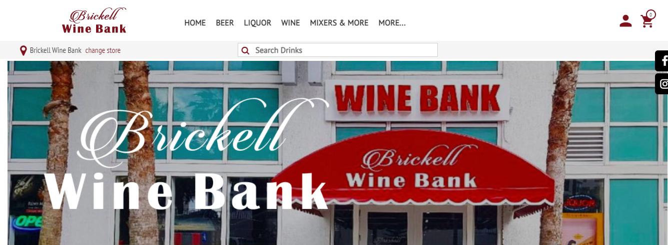 Brickell Wine Bank in Miami