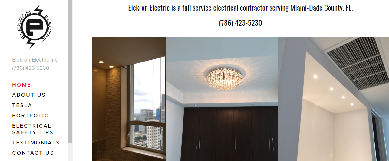 Elekron Electric Services in Miami