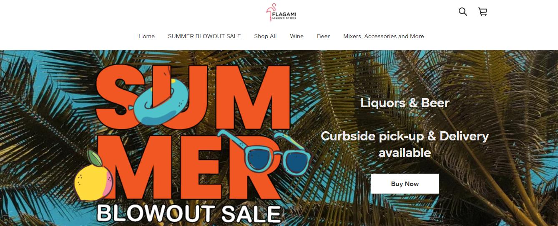 Flagami Liquor Store in Miami