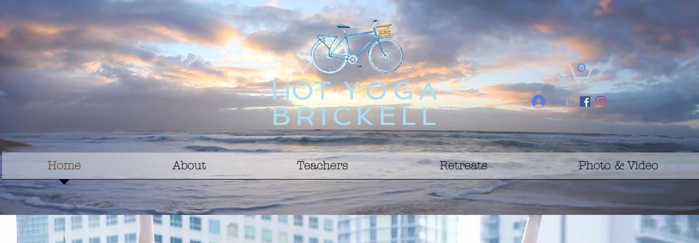 Hota Yoga Studio in Brickell, Miami
