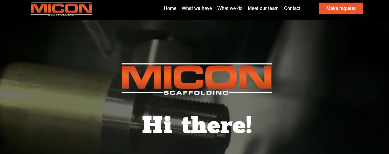 Micon Scaffolding in Miami