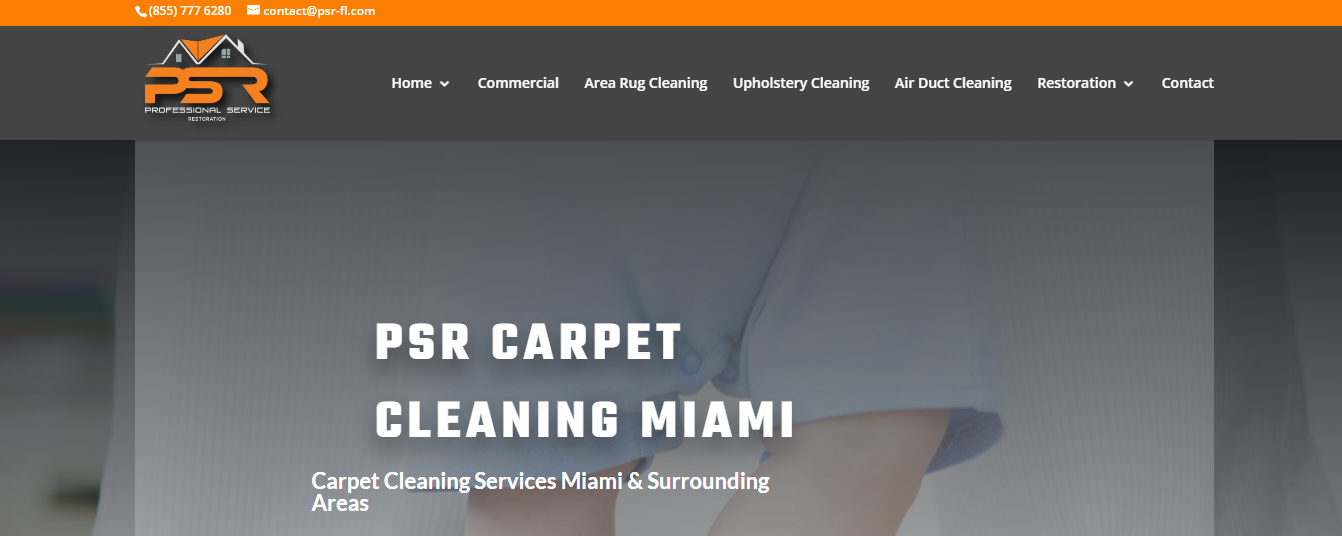 PSR carpet cleaning in Miami