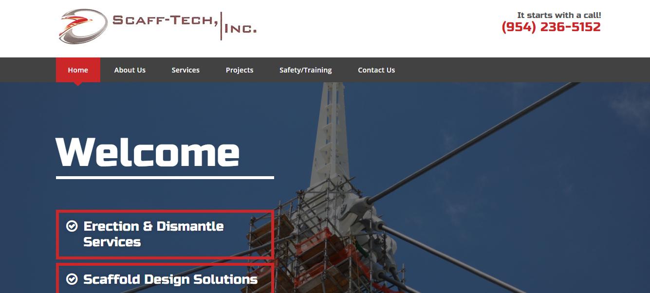 Scaff-Tech Inc Scaffolding in Miami