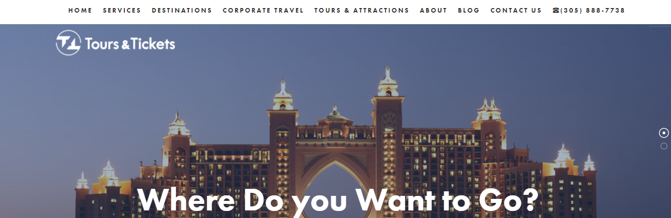 Tours and Tickets Travel Agency in Miami