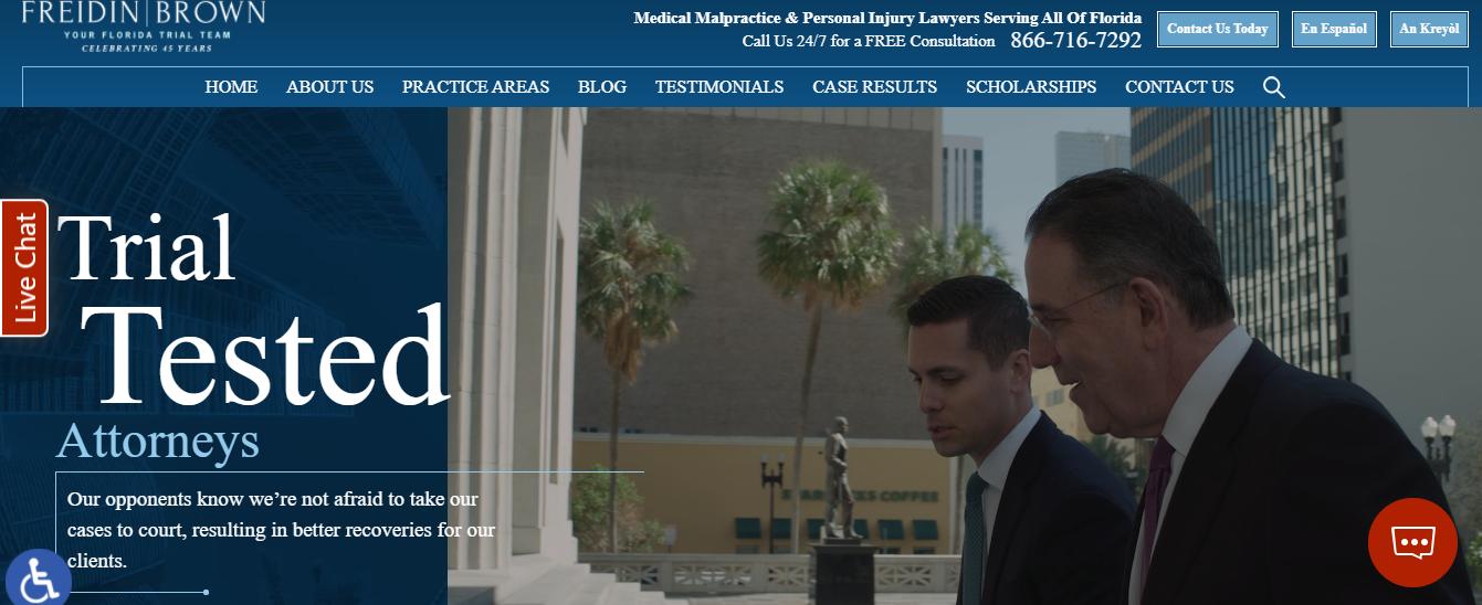 Freidin Brown Lawyers in Miami