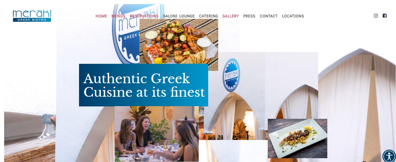Meraki Greek Bistro in Miami