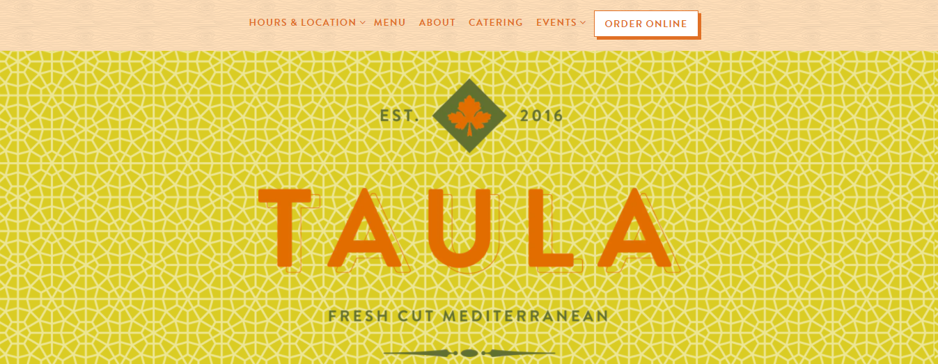 Taula Greek and Mediterranean Cuisine in Miami