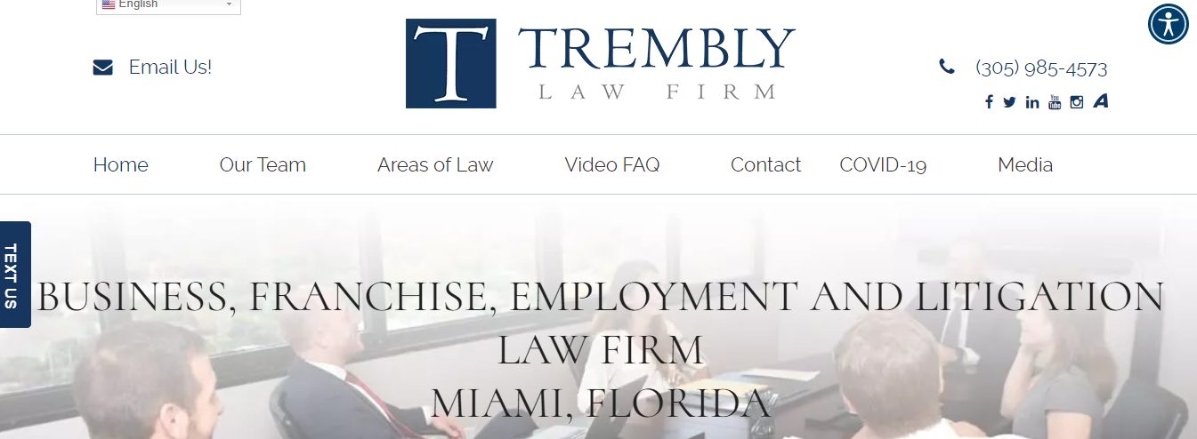 Trembly Law Firm in Miami