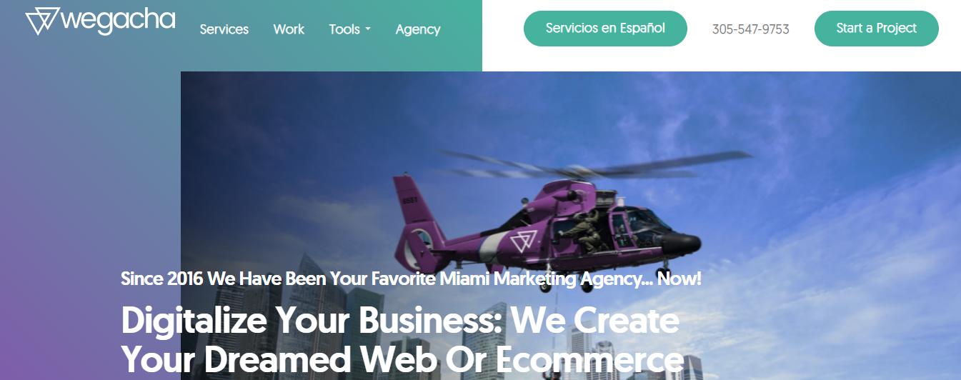 Wegacha Digital Marketers in Miami