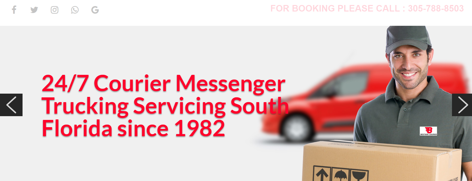 Best Way Courier in Miami