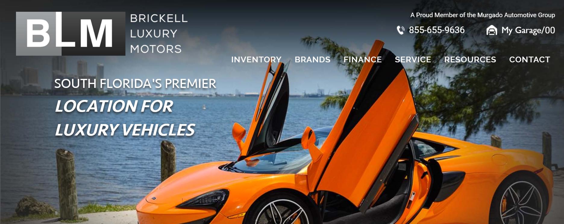 Brickell Luxury Motors in Miami