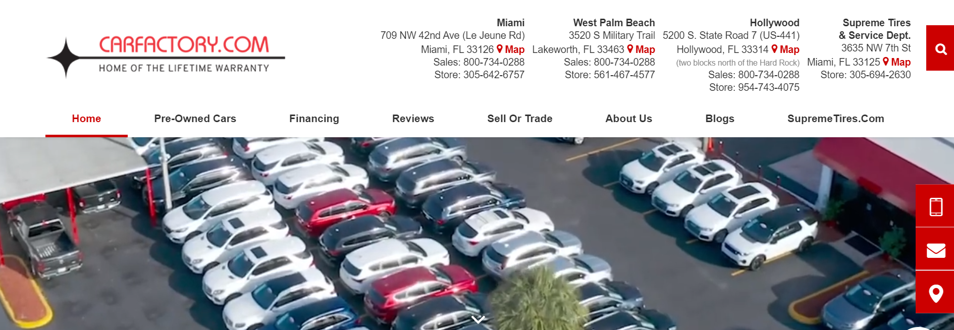 Car Factory Used Cars in Miami
