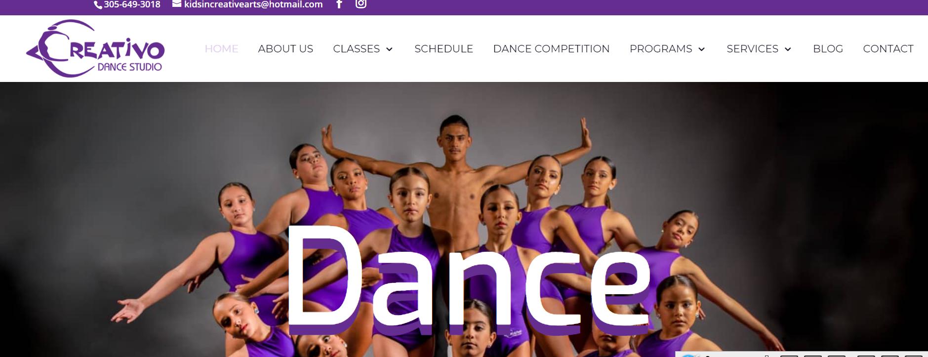 Creativo Dance Studio in Miami