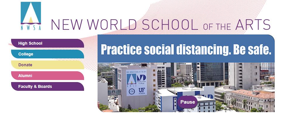 New World School of the Arts in Miami