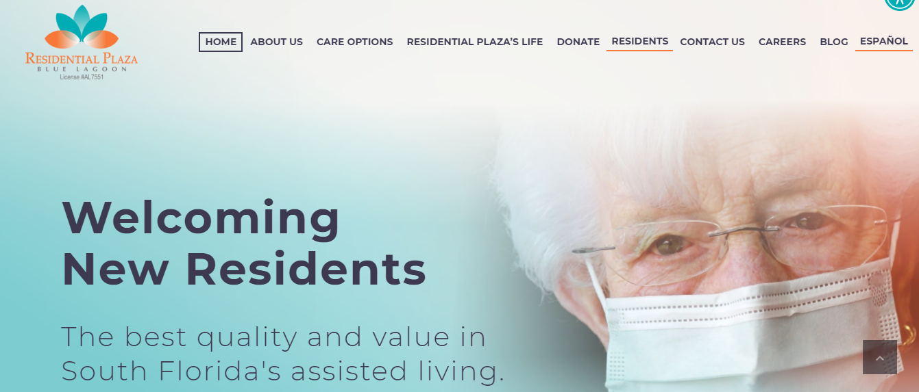 Residential Plaza Aged Care Home in Miami