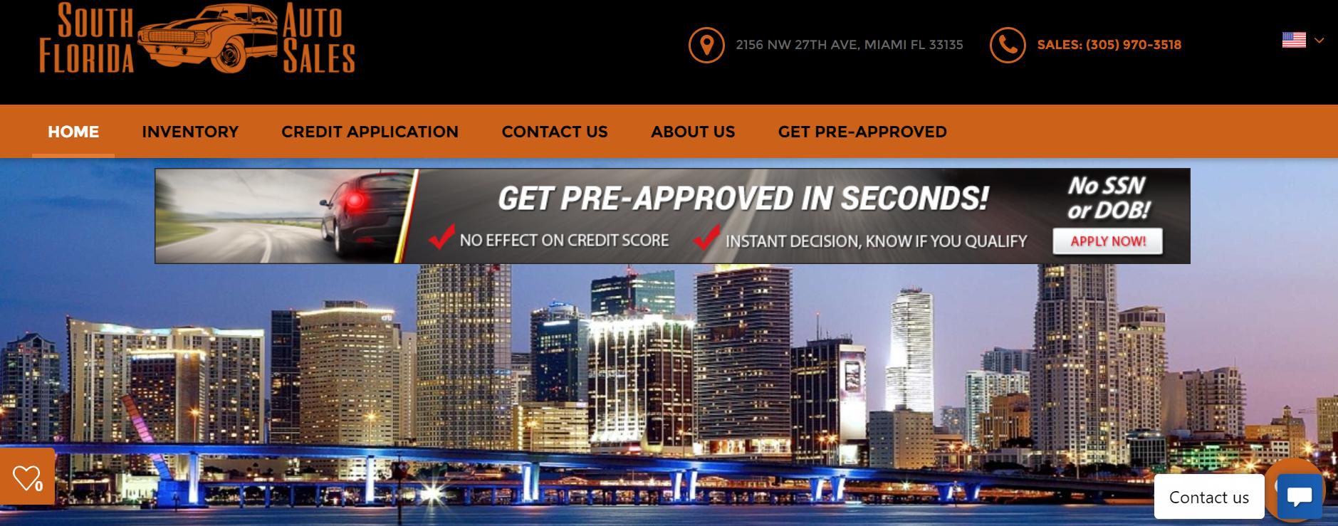 South Florida Auto Sales in Miami