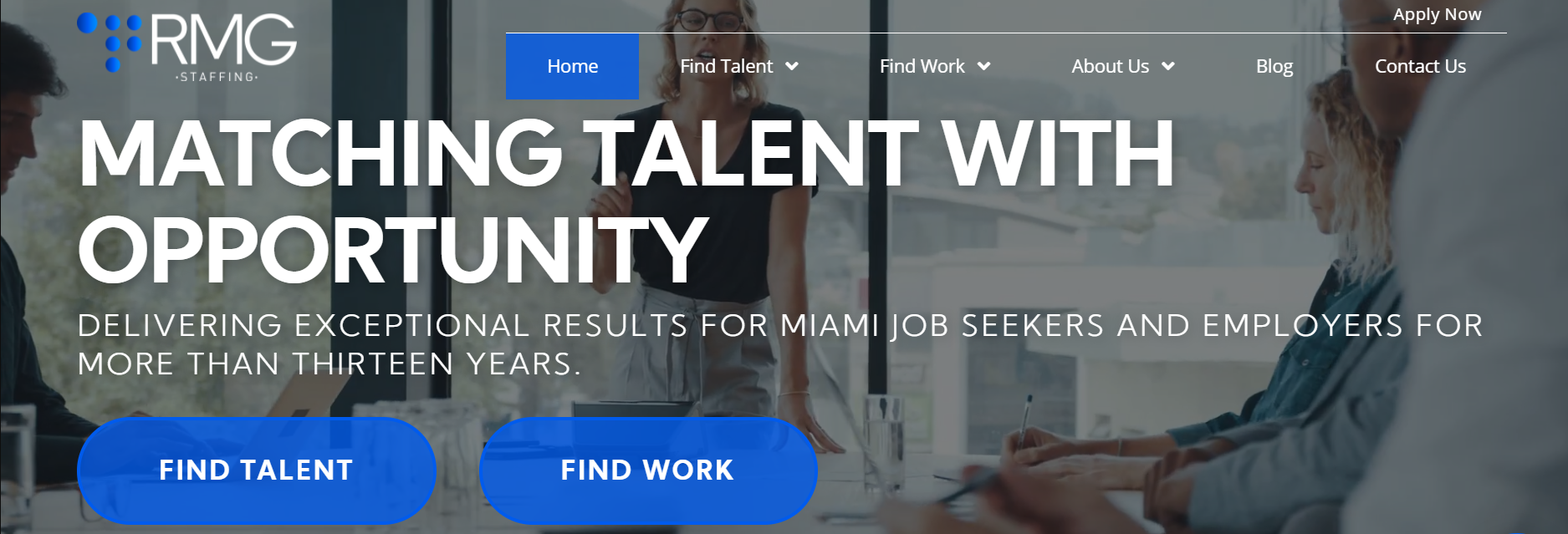 RMG Staffing Inc in Miami